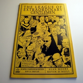 Alan Moore: LOEG Bunper compendium edition one and two (käytetty)