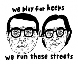 Postcard: We play for keeps